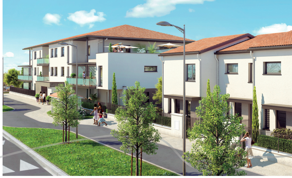 23 appartements et 4 villas sur Colomiers